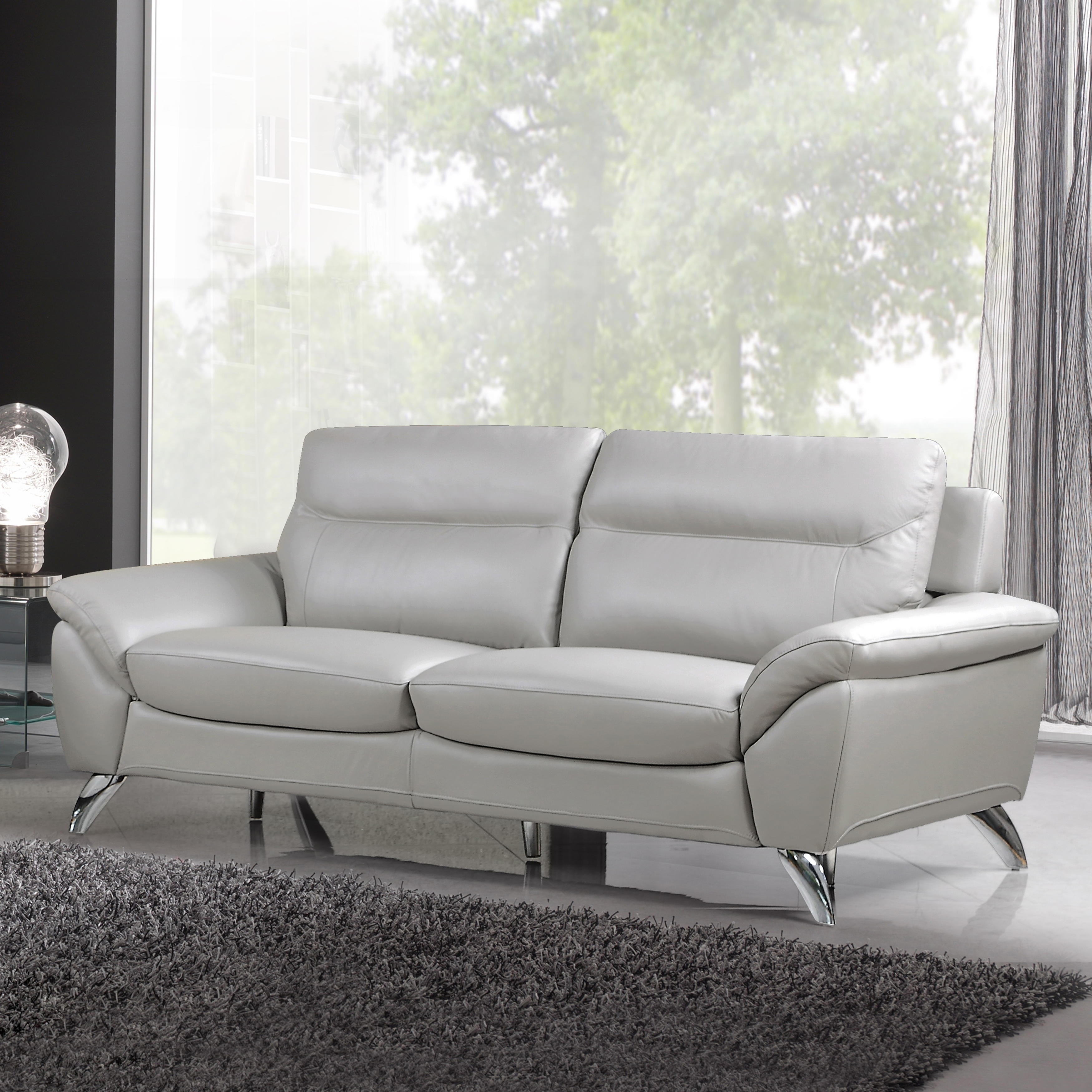 Monaco Genuine Leather Sofa