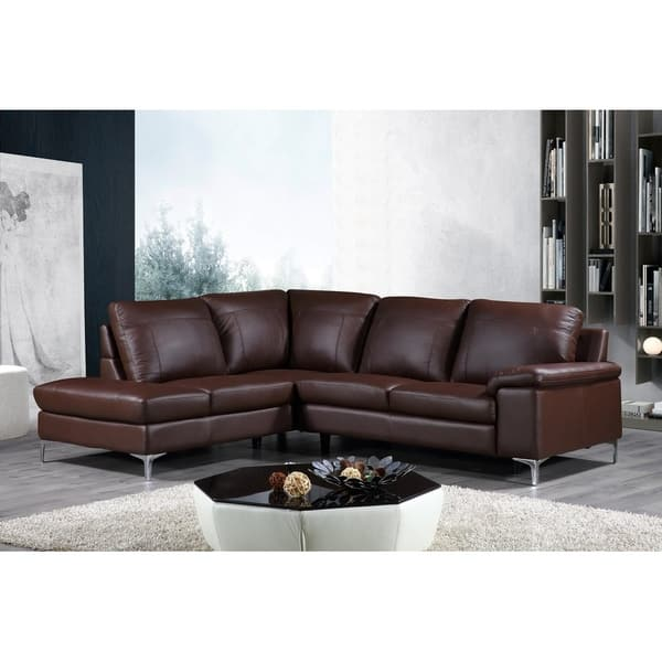 Dallas Genuine Leather Sectional