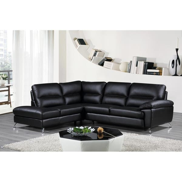 Boston Genuine Leather Sectional