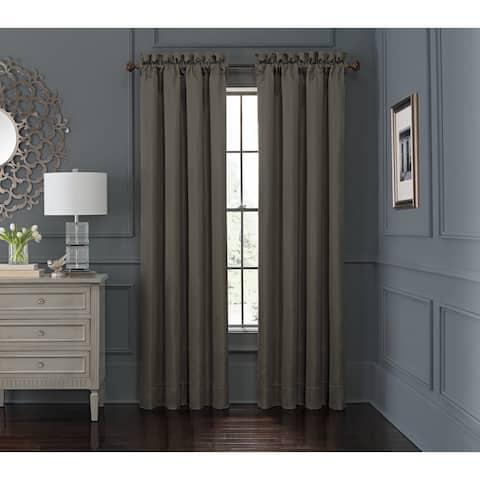 "Waterford, Everett Teal Curtain Panel Pair - 50""X84"""