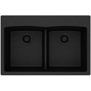 """Elkay Quartz Classic 33"""" x 22"""" x 10"""", Equal Double Bowl Drop-in Sink with Aqua Divide - 33 x 22 x 10"""