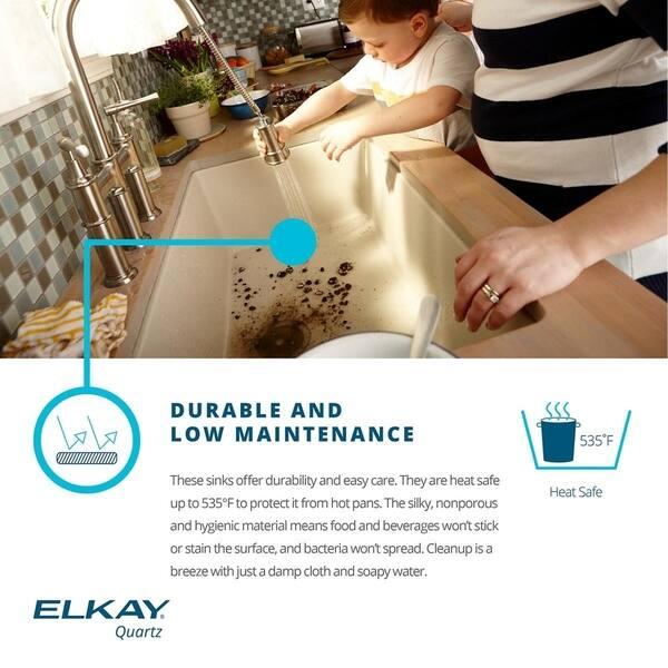 elkay quartz classic 25 x 22 x 11 13