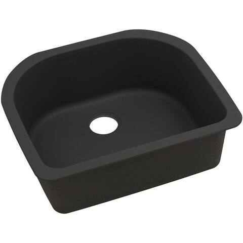 "Elkay Quartz Luxe 25"" x 22"" x 8-1/2"", Single Bowl Undermount Sink - 25 x 22 x 8-1/2"