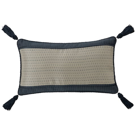 Waterford Everett Teal 11x20 Decorative Pillow