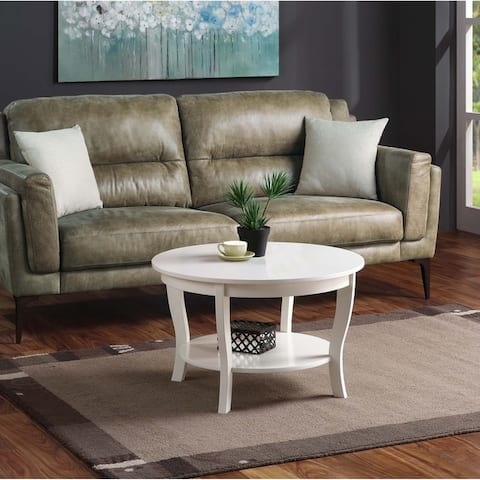Buy White, Round, Coffee Tables Online at Overstock | Our ...