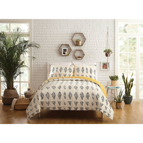 Makers Collective Prosperity Full/Queen Quilt Set, 3 Pieces
