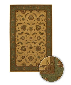 Artist's Loom Hand-tufted Traditional Oriental Wool Rug (7'9x10'6) - 8' x 11' - Thumbnail 0