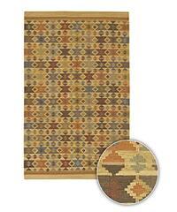 Artist's Loom Handmade Flatweave Country Oriental Wool Rug (7'9x10'6)