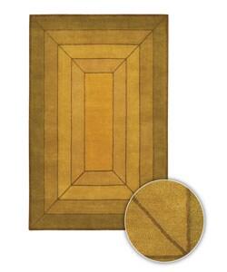 Artist's Loom Hand-tufted Contemporary Geometric Wool Rug - 8' x 8' - Thumbnail 0