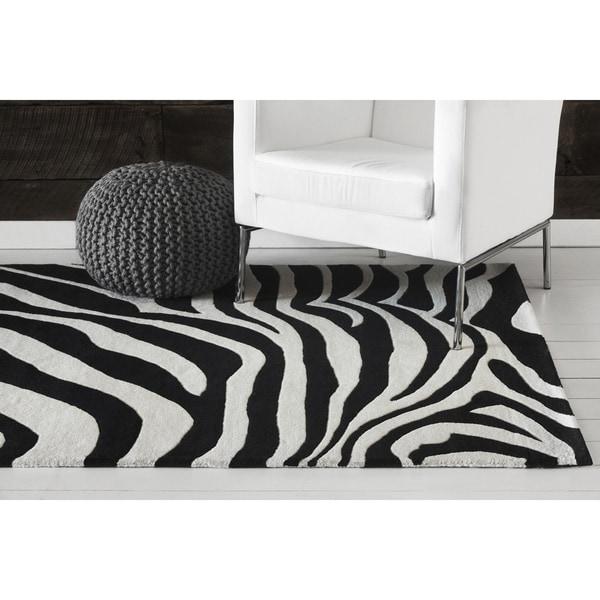 Hand-tufted Adora Contemporary Wool Rug (8' x 11')