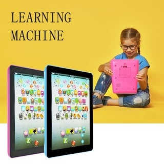 Link to Smart Play Pad Touch Learning Tablet Smooth Touch Alphabet Tablet Puzzle Children Point Reading Machine Similar Items in Learning & Educational Toys