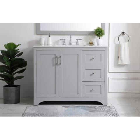 42 inch Single Bathroom Vanity