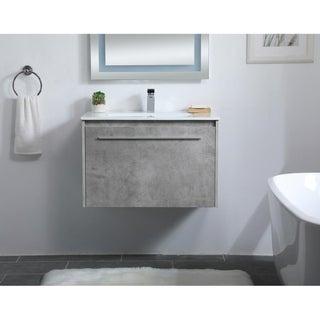 30 in. Single Bathroom Floating Vanity