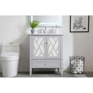 30 In.Single Bathroom Vanity