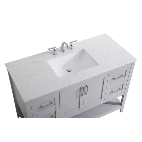 48 Inch Single Bathroom Vanity Overstock 28866427