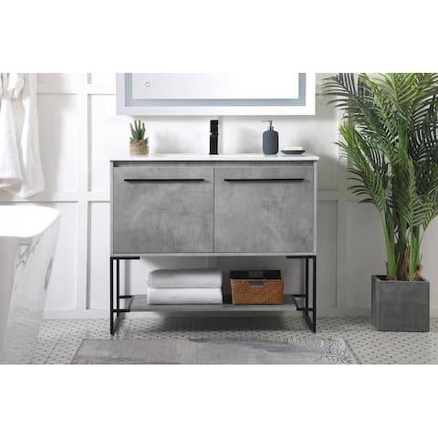 40 in. Single Bathroom Vanity