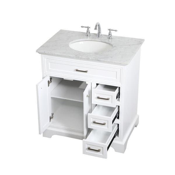 32 Inch Single Bathroom Vanity