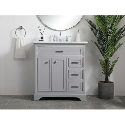 32 inch single bathroom vanity