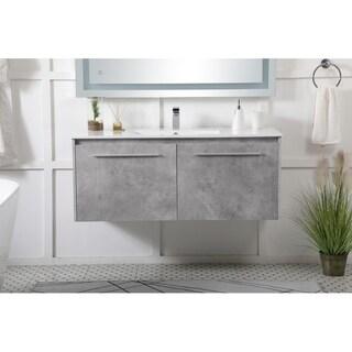 48 in. Single Bathroom Floating Vanity