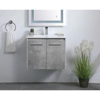 24 in. Single Bathroom Floating Vanity