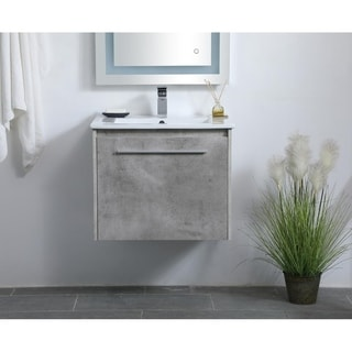 24 in. Single Bathroom Floating Vanity