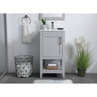 18 inch Single Bathroom Vanity