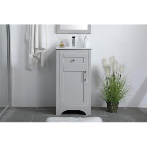18 inch Single Bathroom Vanity