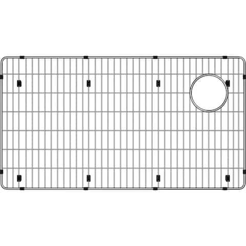 "Elkay Crosstown Stainless Steel 28-1/2"" x 15-1/2"" x 1-1/4"" Bottom Grid - 28-1/2 x 15-1/2 x 1-1/4"