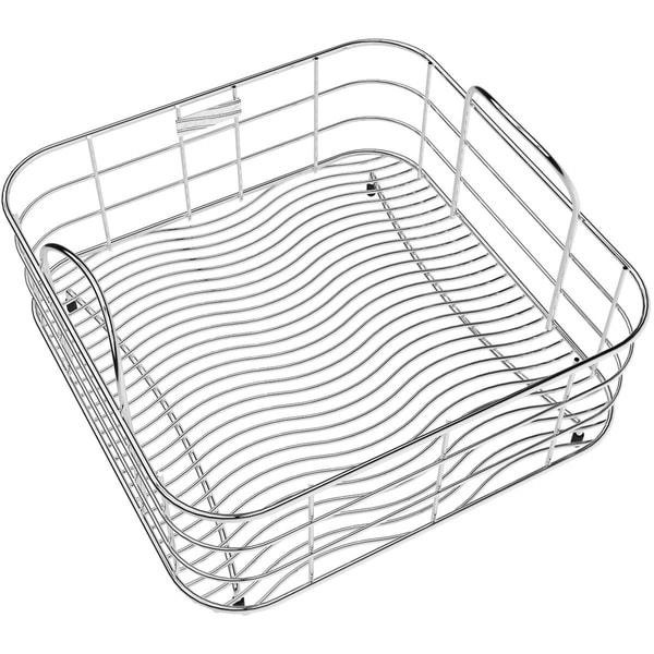 "Elkay Stainless Steel 13"" x 13"" x 7"" Rinsing Basket - 13 x 13 x 7"