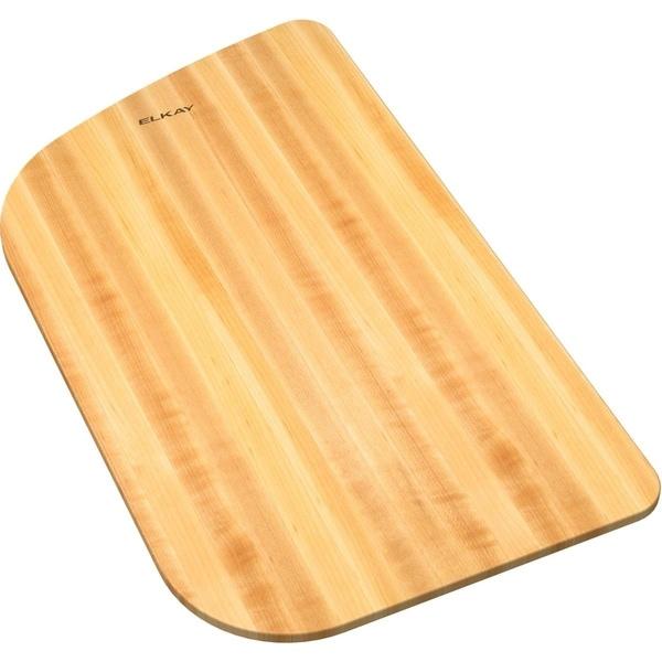 "Elkay Hardwood 12"" x 19-3/4"" x 1"" Cutting Board - (Top mount installation) - 12 x 19-3/4 x 1"