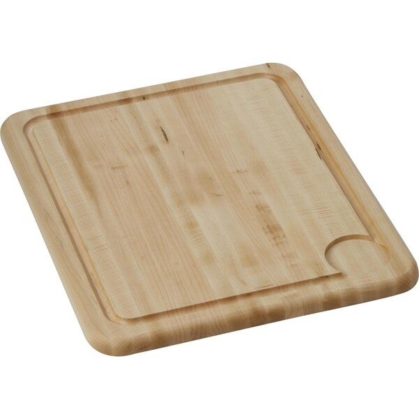 "Elkay Hardwood 15-1/2"" x 19-1/4"" x 1"" Cutting Board - 15-1/2 x 19-1/4 x 1"