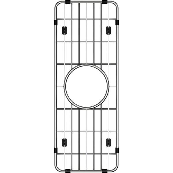"Elkay Crosstown Stainless Steel 6-1/4"" x 16-3/4"" x 1-1/4"" Bottom Grid - 6-1/4 x 16-3/4 x 1-1/4"