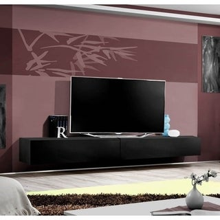 Link to Strick & Bolton Hadi Wall-mounted TV Stand Similar Items in Bookshelves & Bookcases