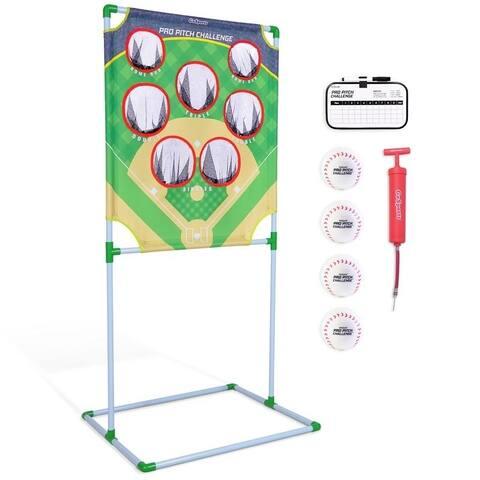 GoSports Pro Pitch Challenge Baseball Toss Game Set