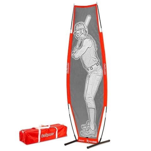 GoSports Baseball & Softball Xtraman Dummy Batter Pitching Training Mannequin