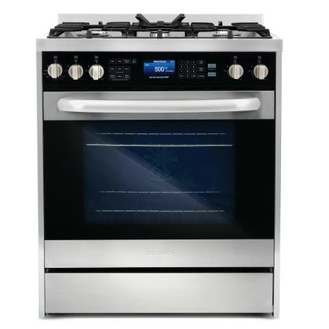 Commercial-Style 30 in 5 cu. ft. Single Oven Dual Fuel Range