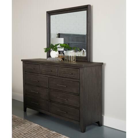 Irvine Mirror by Avenue 405 - Grey