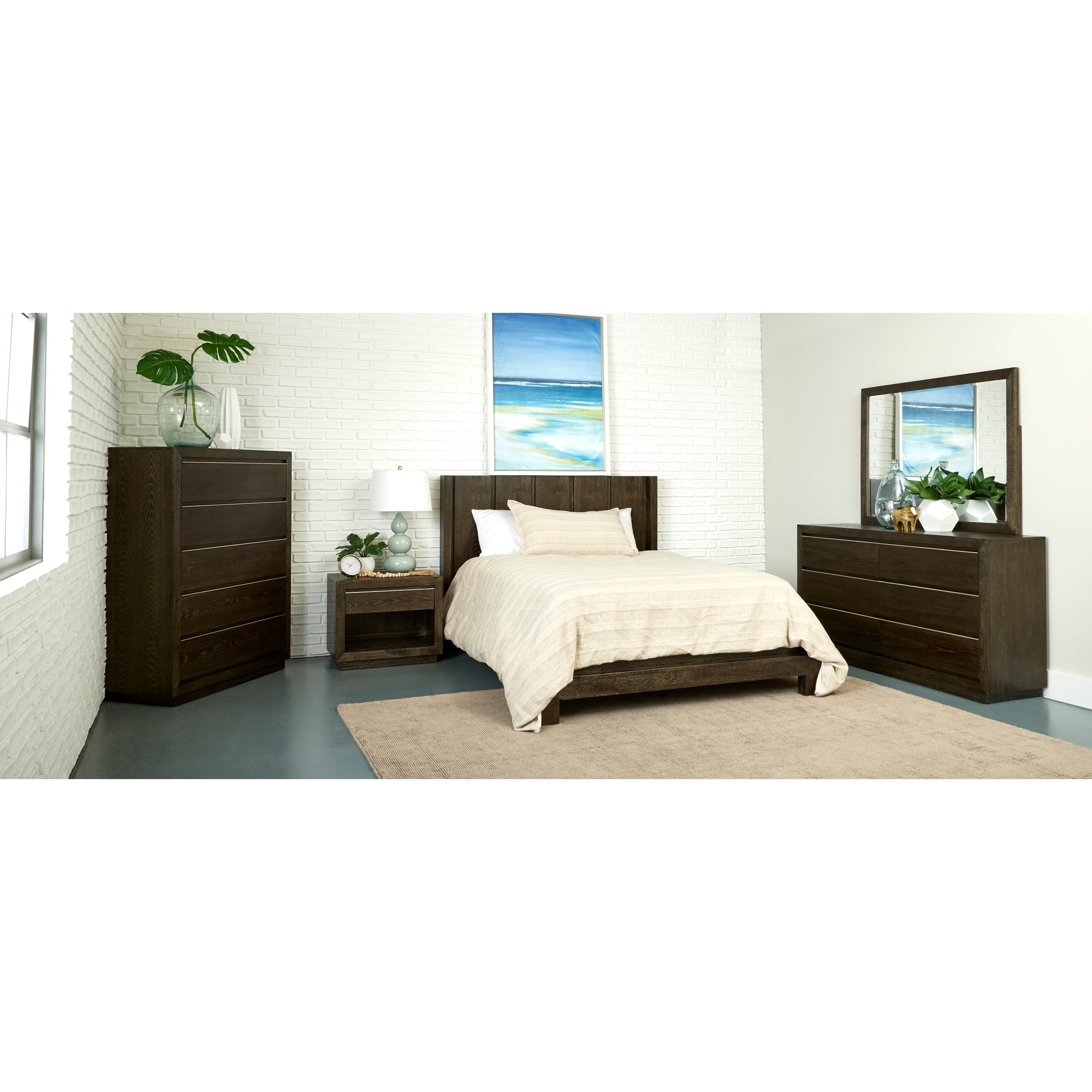 Picture of: Matteo Queen Size Platform Bed Overstock 28867308 King