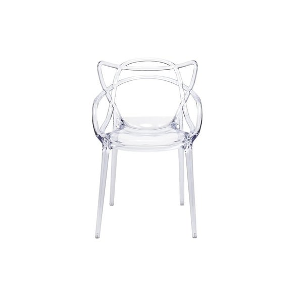 Master Clear Dining Chair