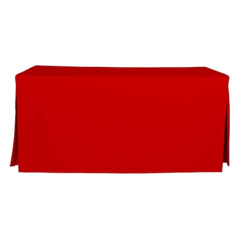 Tablevogue Solid 6 Ft. Table Cover - 72 Inches