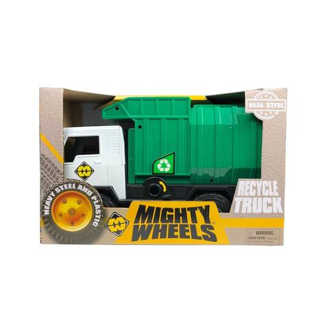 "Mighty Wheels 20"" Recycle Waste Truck Toy Vehicle"