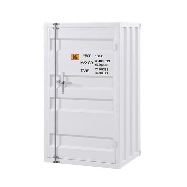 Cargo Chest with 1 Door - White