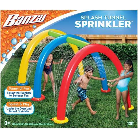 Banzai Splash Tunnel Sprinkler Outdoor Toy