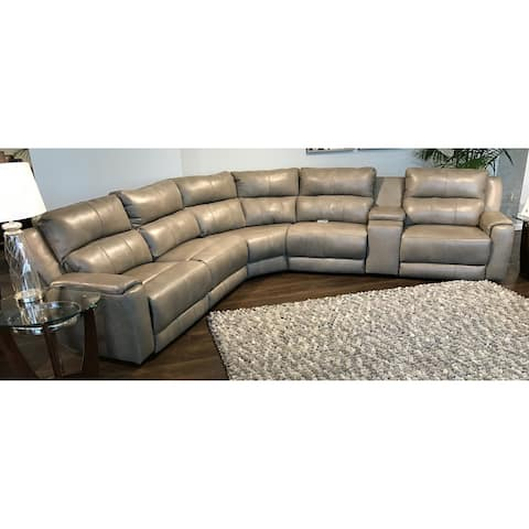 Southern Motion's Dazzle Power Headrest Reclining Sectional
