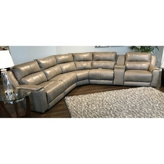 Link to Southern Motion's Dazzle Power Headrest Reclining Sectional Similar Items in Living Room Furniture