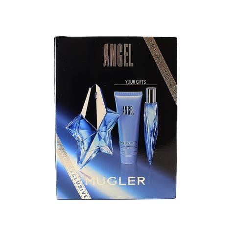 Angel Thierry Mugler Angel 3 Pc. Gift Set For Women
