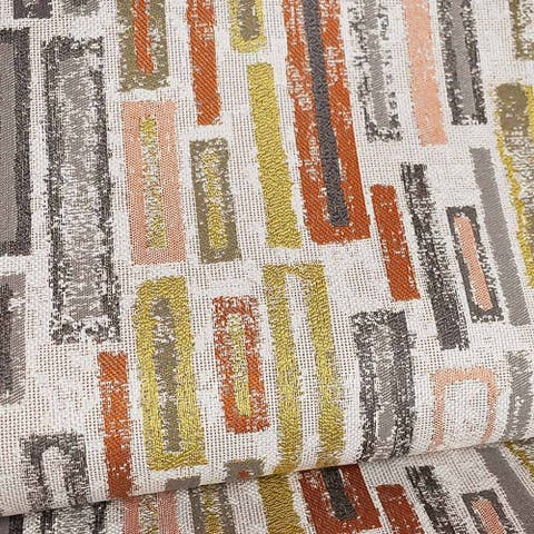 Kotter Home Blockbuster Rust Fabric by the Yard