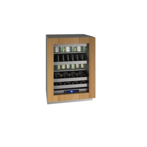 Beverage Center 24 In Reversible Hinge Integrated