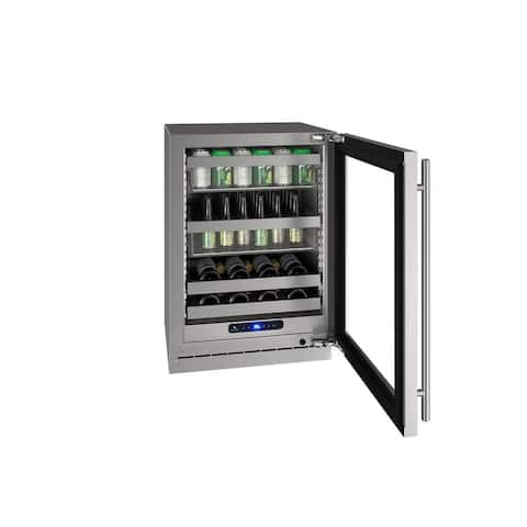 U-line HBV524 24 inches Beverage Center Stainless Steel