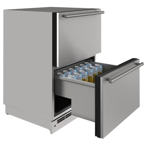 Outdoor Refrigerator Drawer 24 In Stainless 115v